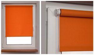 Рулонные шторы для пластиковых окон Мини